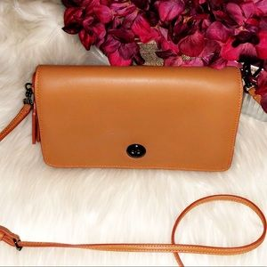 """COACH 1941 """"Dinky"""" Glovetanned Leather Bag"""
